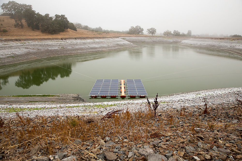 Pristine Floating Solar Installation
